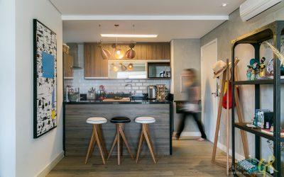 Apartamento 75m para StudioMK – Arquitetura e Design