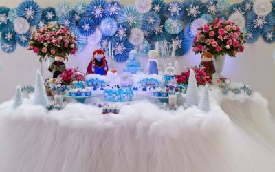 Blog Encontrando Ideias: Festa Frozen