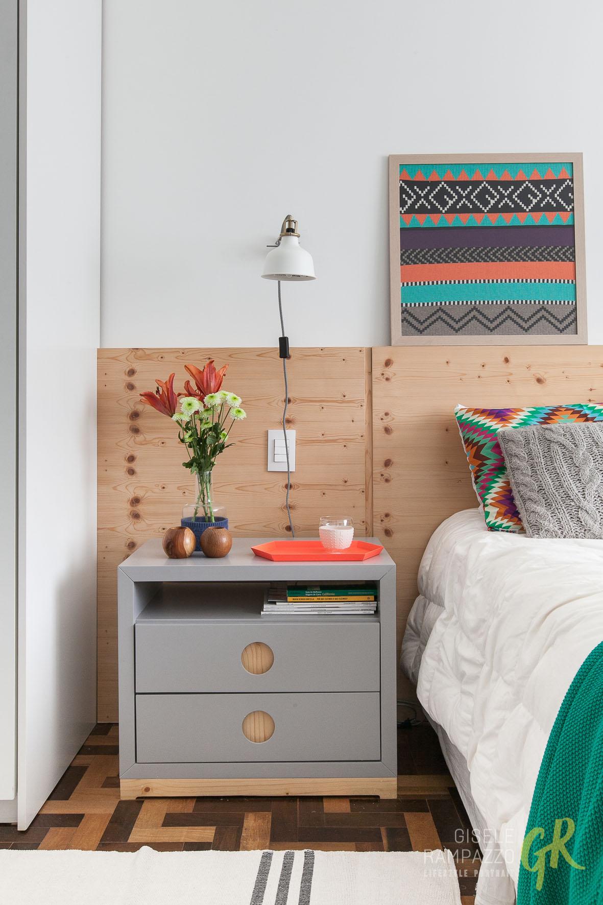 Hist Rias De Casa Decora O Escandinava Colorida Gisele Rampazzo ~ Tecido Para Parede De Quarto Casal