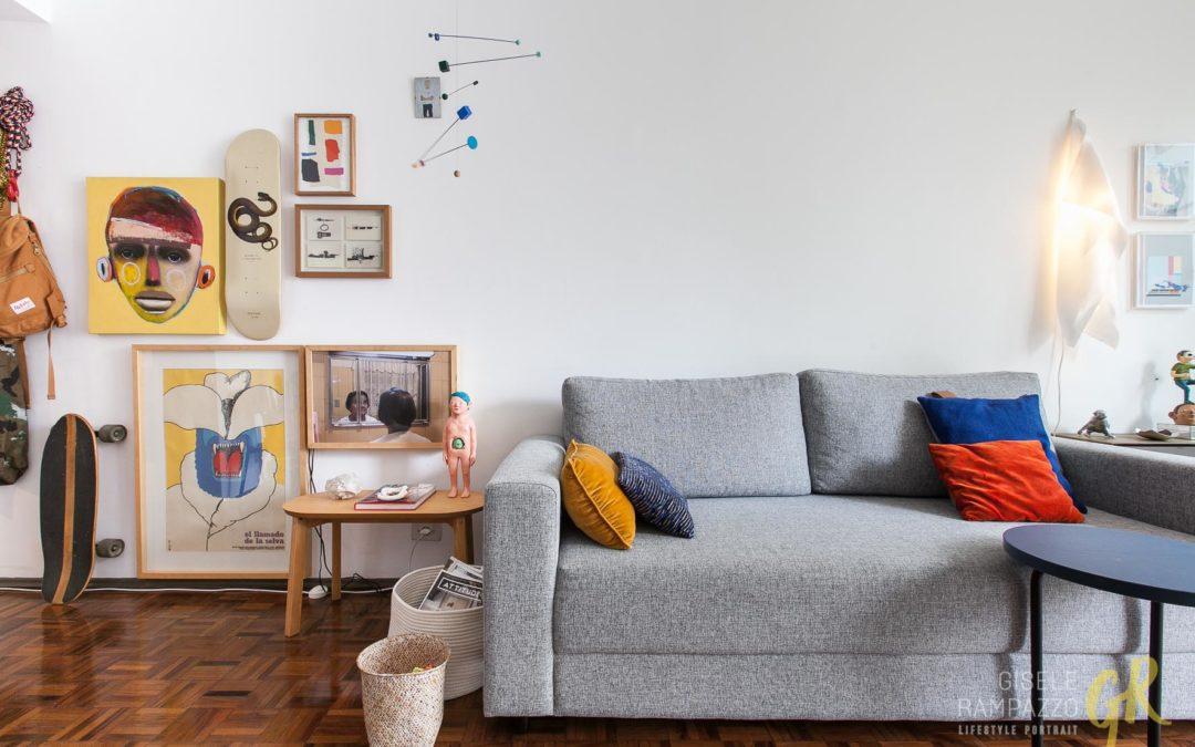 Histórias de Casa – Apartamento com Varanda