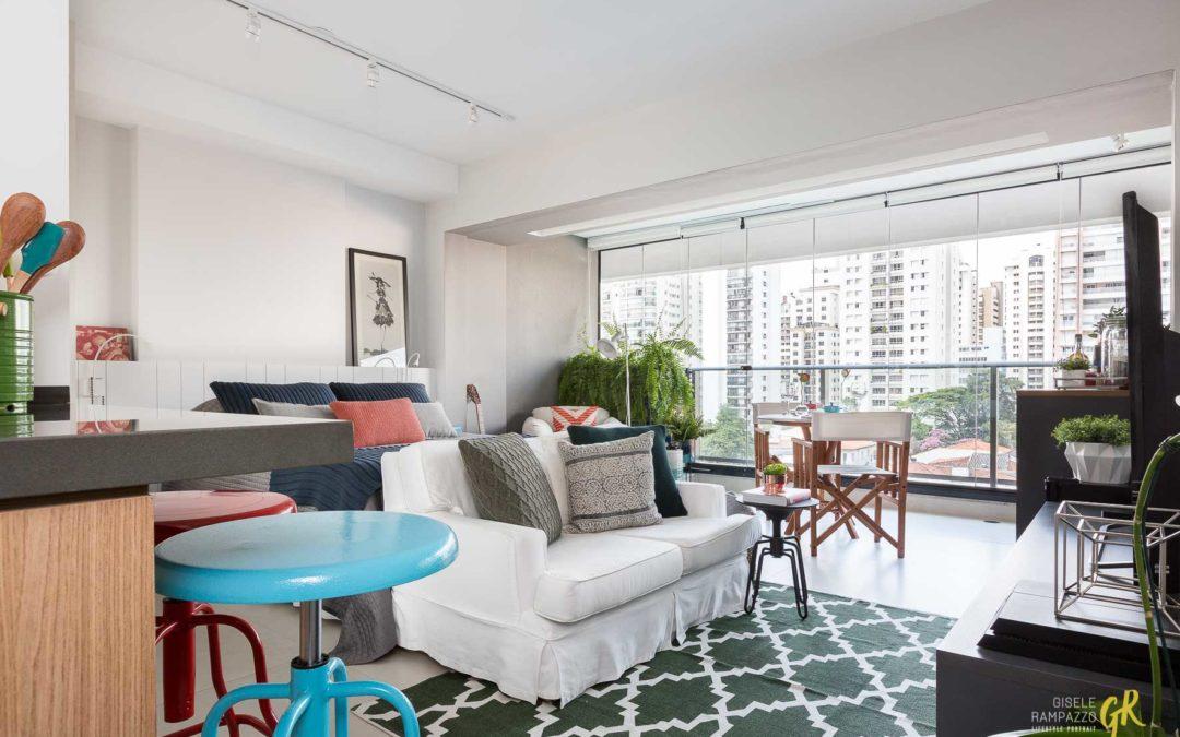 Apartamento integrado: comodidade e estilo em ambientes pequenos